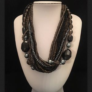 Premier Designs NATURAL BEAUTY Beads Necklace